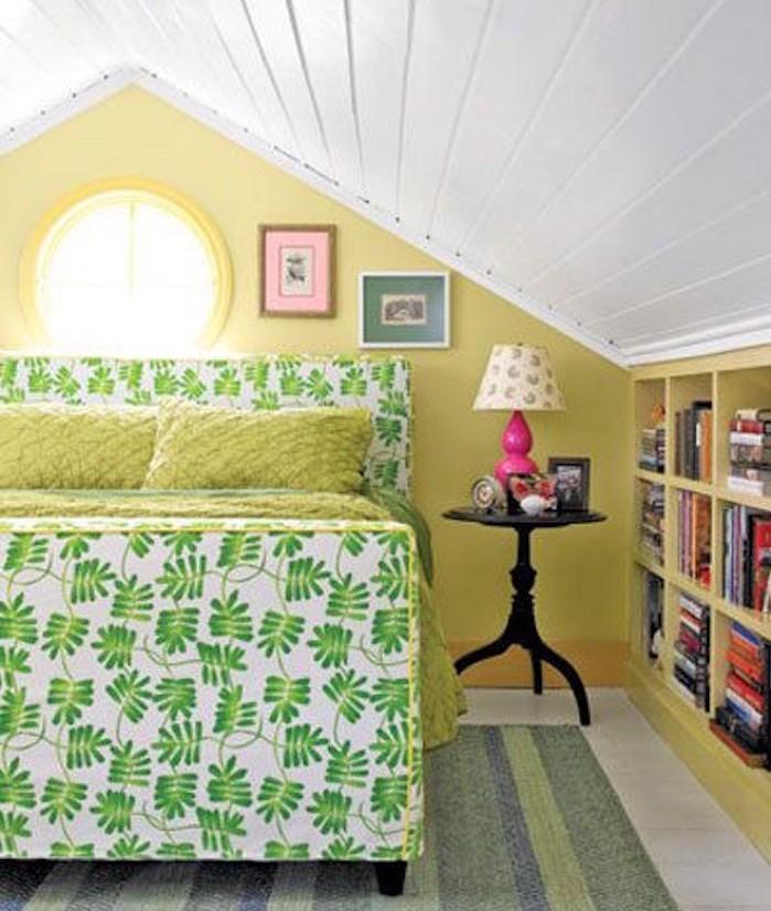 idee aménager petite chambre dans les combles amenagement grenier
