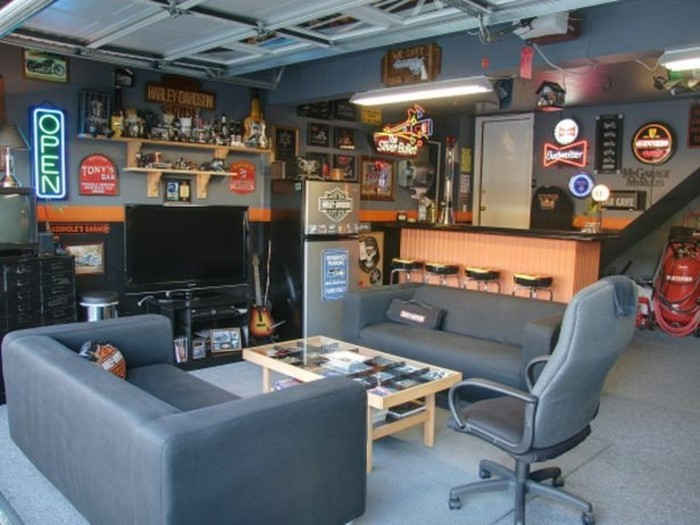 idee-amenagement-garage-coin-masculin-espace-prive-jeux-video