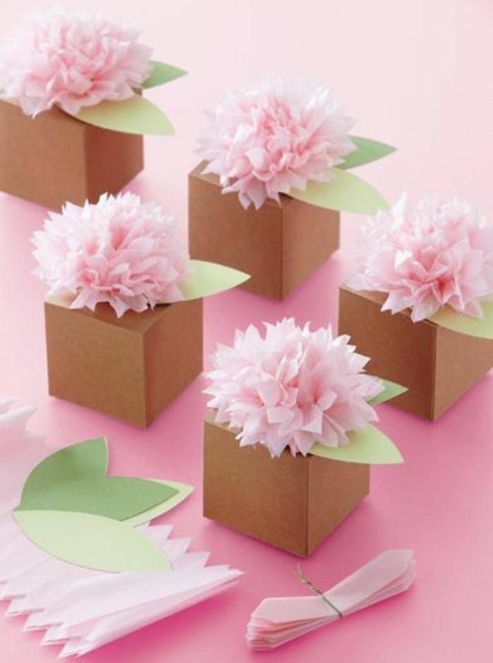 1001 id es comment faire une bo te en papier - Decorer boite carton pour anniversaire ...