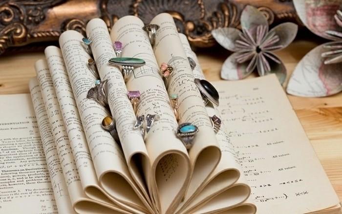 idee-comment-ranger-ses-bagues-idee-de-presentoire-bijoux-fabrique-des-feuilles-d-un-livre-idee-originale-et-decorative