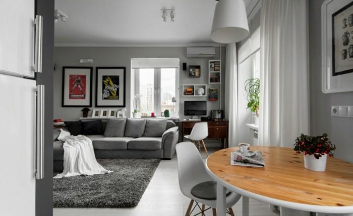 idee-deco-studio-canape-modulable-tapis-en-peluche-desing-moderne-en-gris
