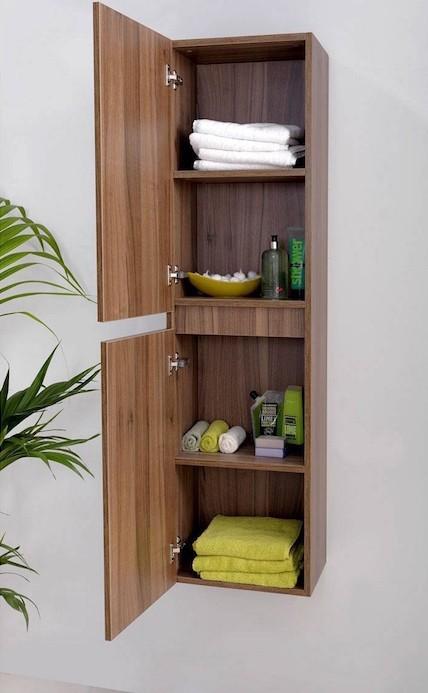 ikea colonne cuisine armoire à pharmacie etagere murale suspendue en bois