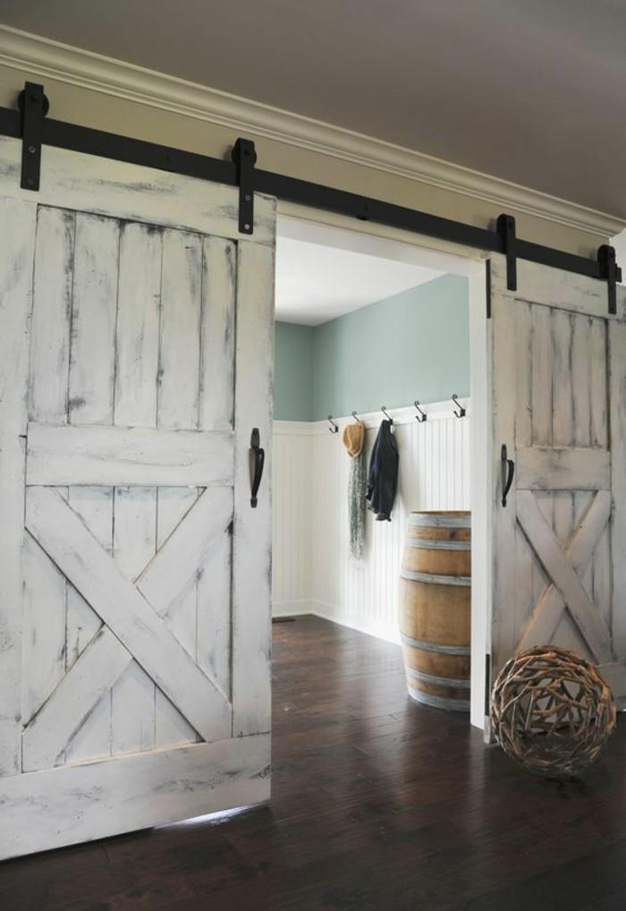 1001 Idées Pour Intégrer La Porte De Grange Dans Votre Intérieur