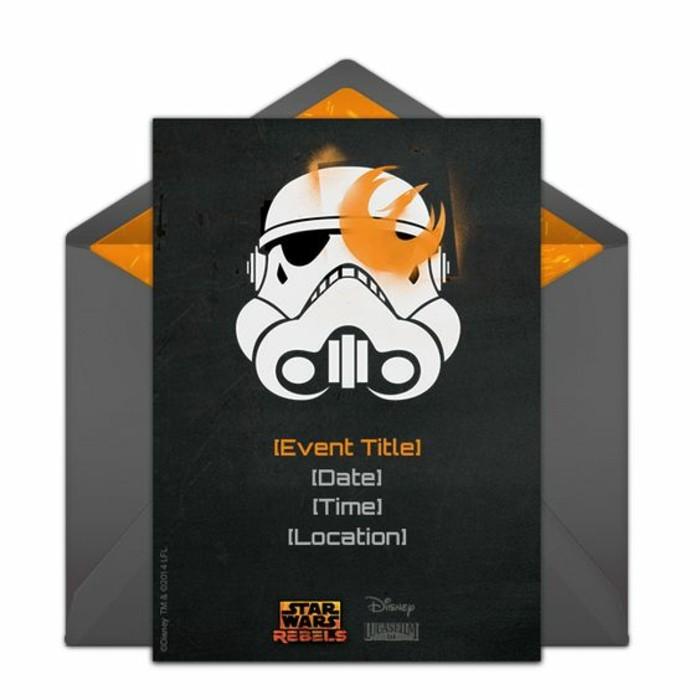 60 ides pour organiser un anniversaire star wars inoubliable - Carte Anniversaire Star Wars Imprimer