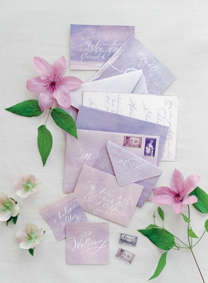 invitations-mariage-des-couleurs-pastel-idee-deco-mariage-violet