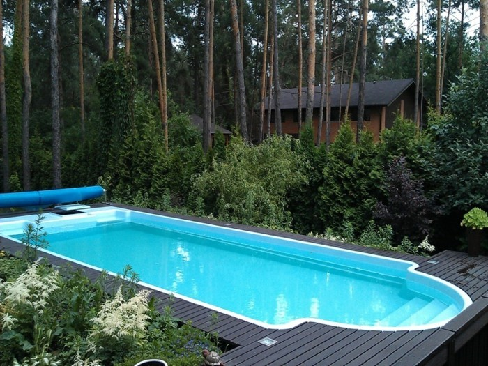 piscine de jardin en bois photos de conception de maison. Black Bedroom Furniture Sets. Home Design Ideas