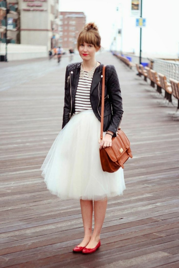 jupe-tutu-femme-comment-la-porter-satchel-en-cuir