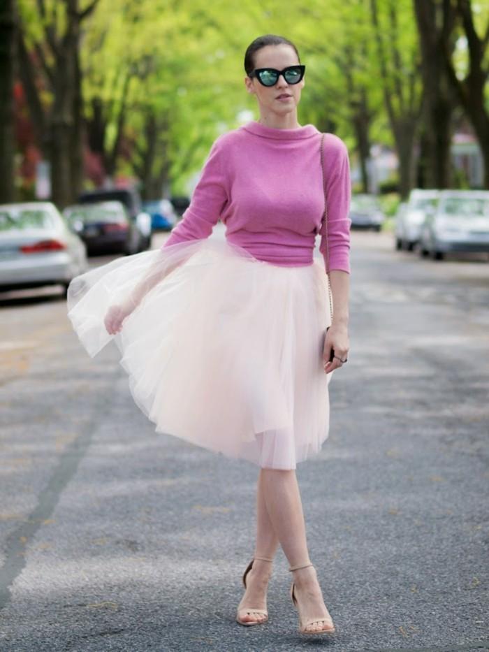 jupe-tutu-tenue-feerique-de-femme-chic-escarpins-beiges