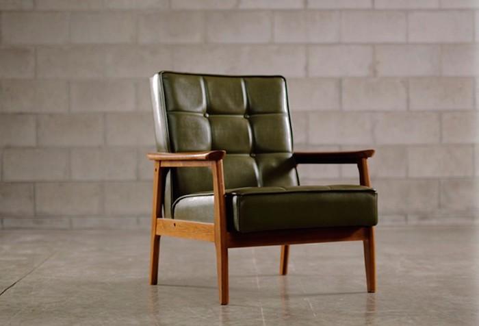 kubus-fauteuil-en-cuir-retro-design-vintage-vert-fonce