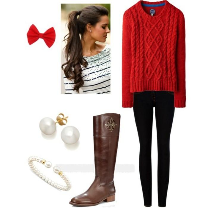 la-tenue-d-hiver-femme-look-week-end-chic-robes-d-hiver-femme-la-mode-de-cet-hiver