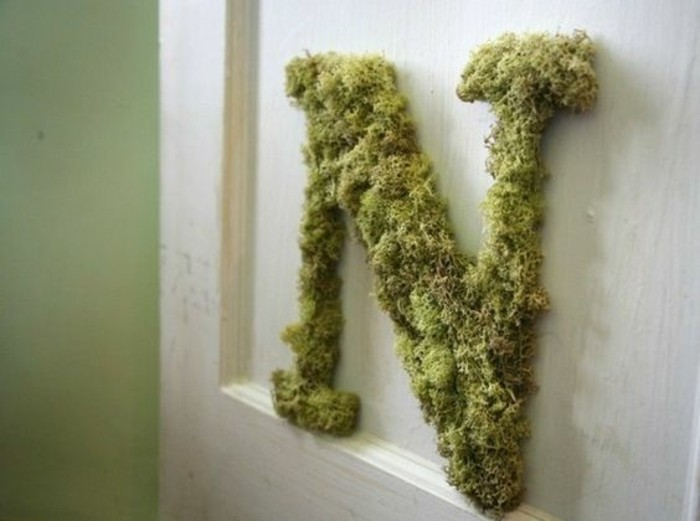 1001 id es pour un art v g tal avec des graffiti en mousse Mousse vegetale deco idees