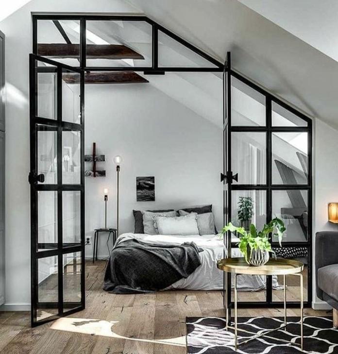 Peinture chambre vert kaki design de maison - Maison grise et blanche ...