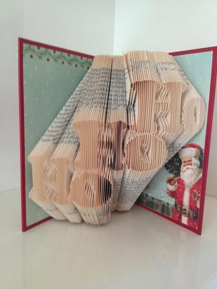 livre-origami-sculpture-sur-thème-de-Noel