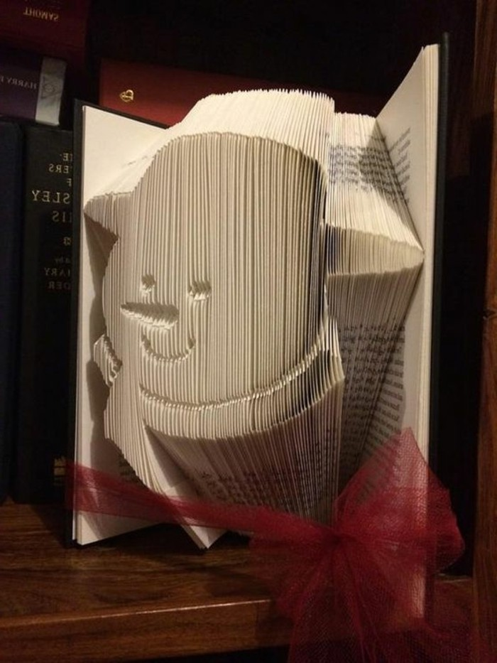 Cute Elephant Livre pliage motif pour créer votre propre art Livre plié