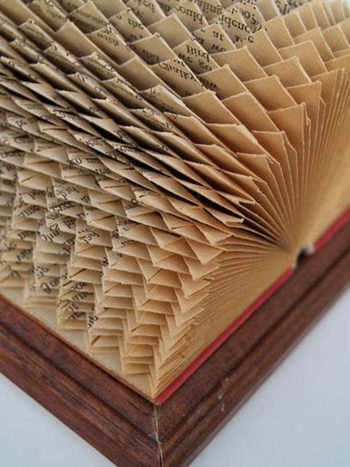 1001 Idees Originales De Pliage De Livre Des Formes Faciles