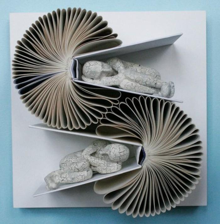 livres-pliés-pliage-de-livres-original-installation-d'art