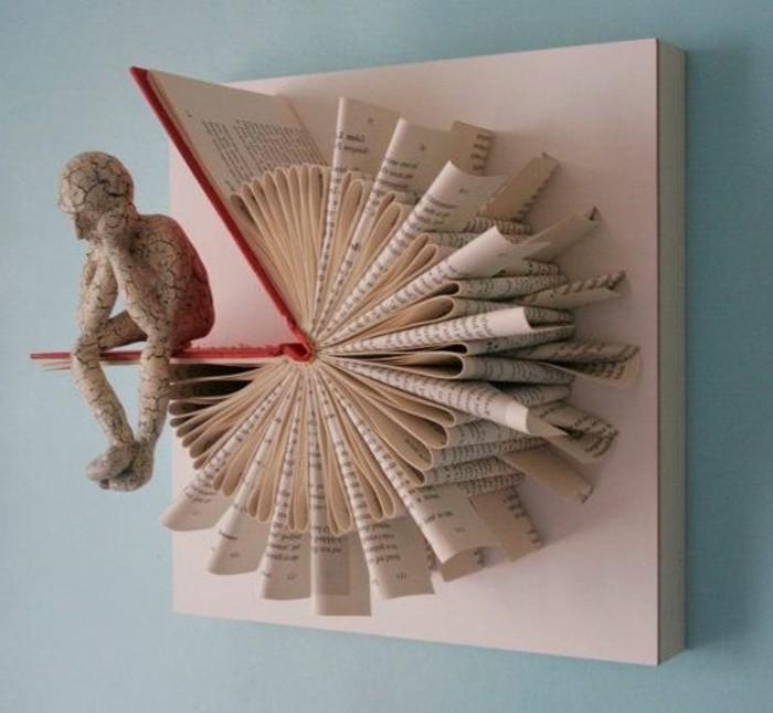 livres-pliés-porte-cartes-mural