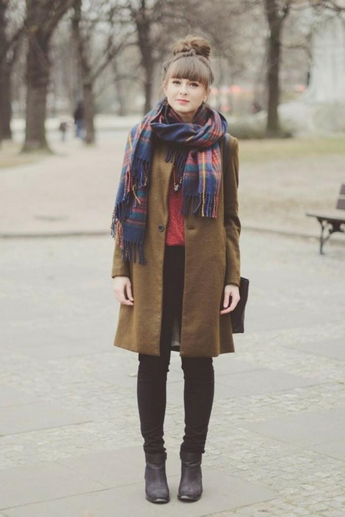 look-automne-hiver-tendaces-de-mode-echarpe-carreau