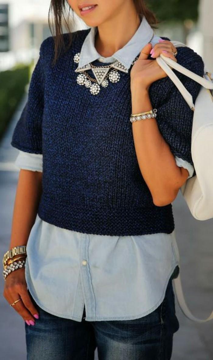 Chemise en jean femme comment la porter fashion designs - Chemise en jean femme comment la porter ...