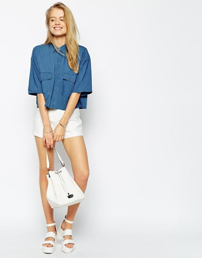 aa0c90cc0c70a1 ▷ 1001+ idées avec quoi porter une chemise en jean