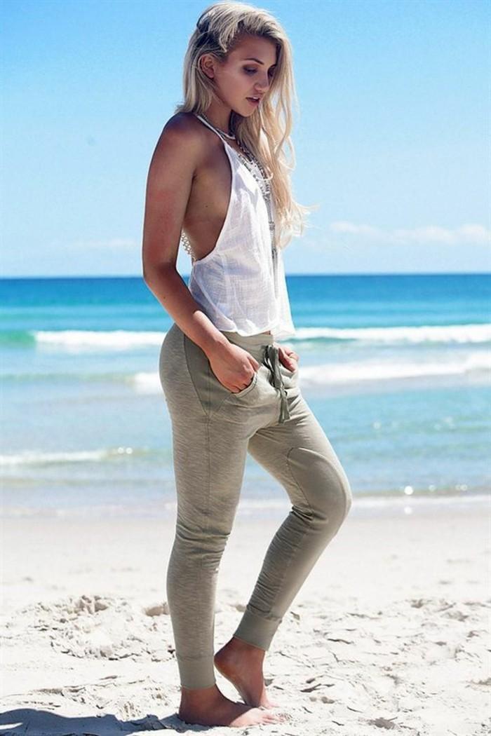 look-pantalon-kaki-débardeur-blanc-vision-d'été-confort-et-liberté