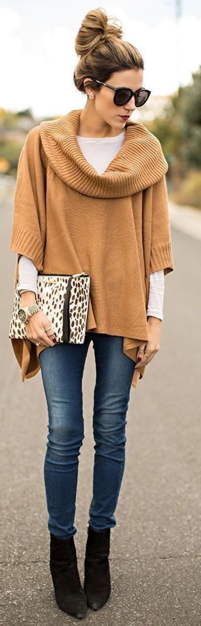 magnifique-look-chic-et-décontracté-femme-pull-beige
