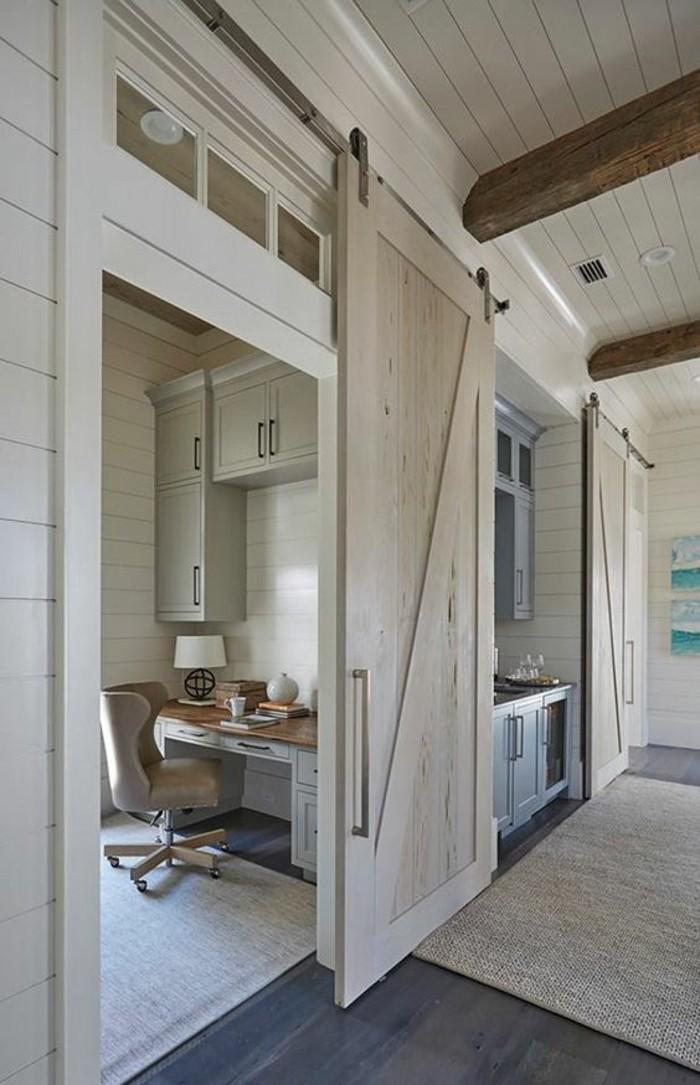 maison-intérieur-au-style-rustique-système-porte-coulissante-pas-cher