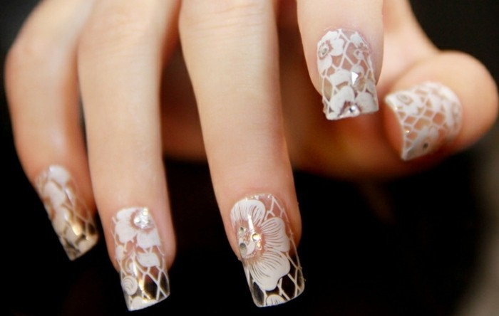 deco ongle transparent