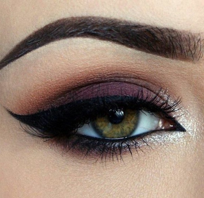 maquillage-chat-femme-apparence-feminine-et-smokey-eye