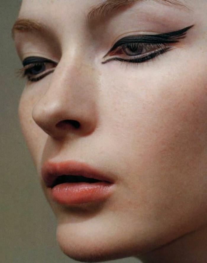 1001 id es pour votre maquillage oeil de chat. Black Bedroom Furniture Sets. Home Design Ideas