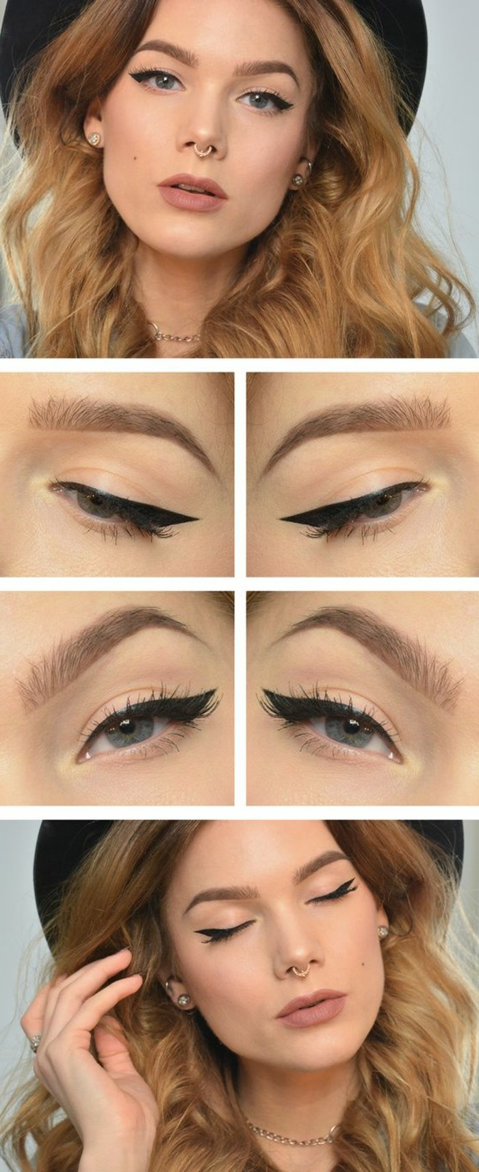 maquillage-yeux-de-chat-maquillage-yeux-bleus-eyeliner