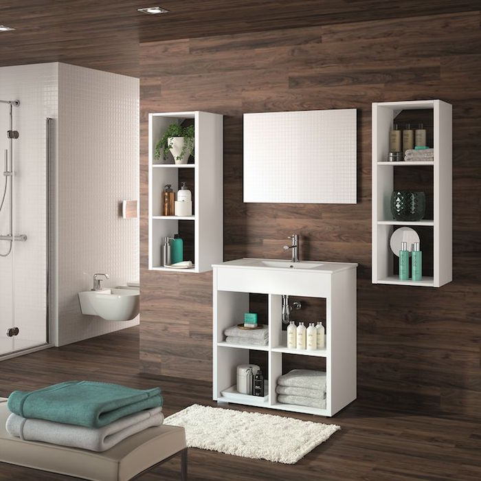 ikea armoire de salle de bain latest pose robinet mural. Black Bedroom Furniture Sets. Home Design Ideas