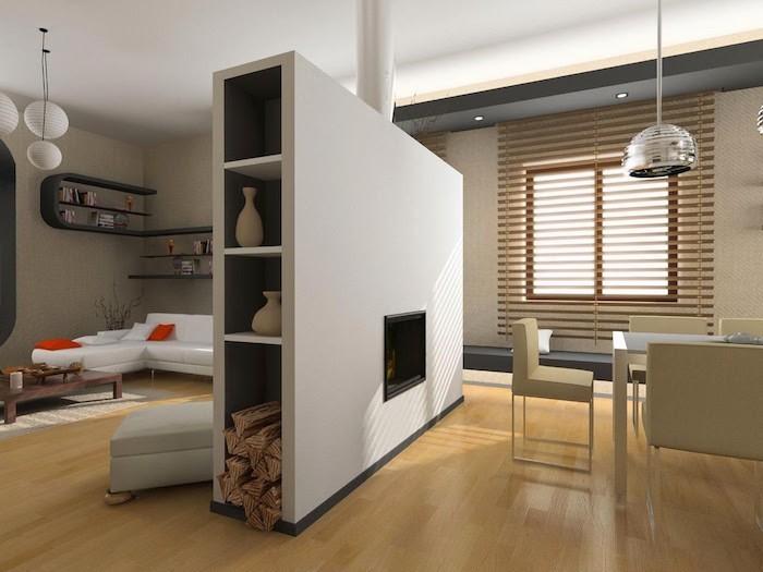 meuble de séparation - diviser pour mieux régner chez soi ... - Meuble Separation De Pieces Design