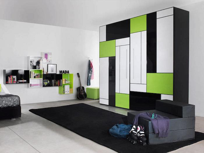 meuble dressing design couleur original designer armoire