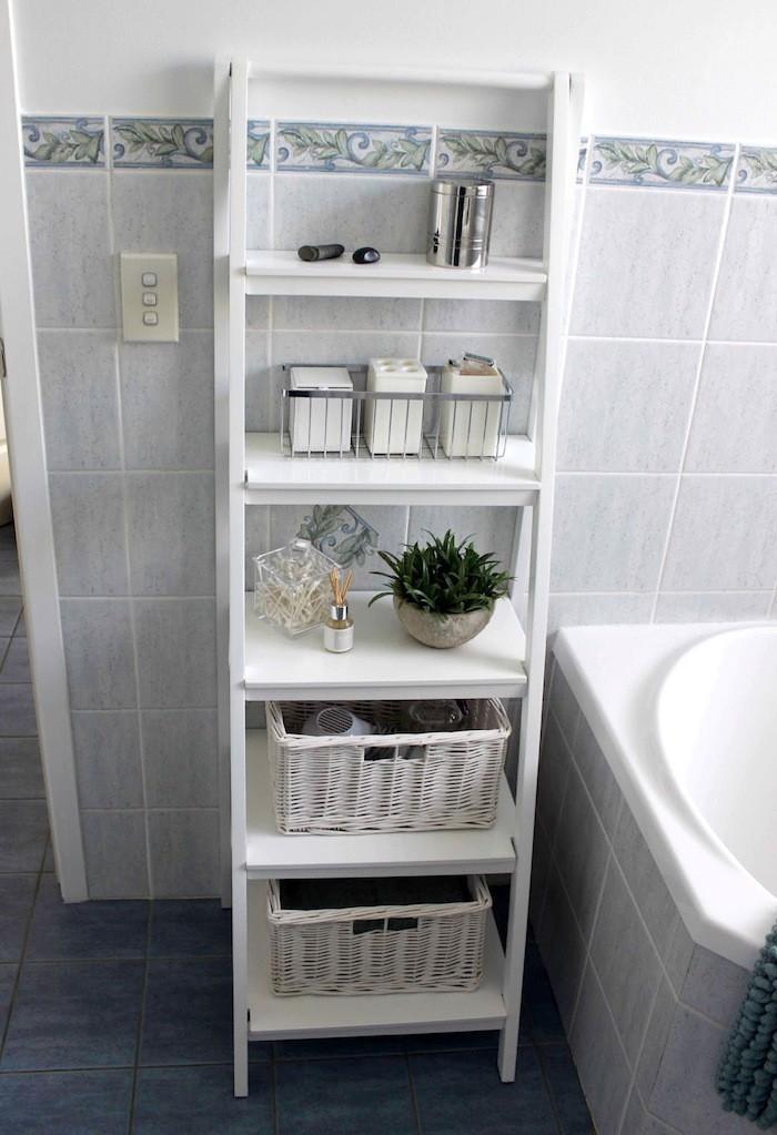 Colonne Salle De BAIN Pensez à Exploiter Lespace Vertical - Meuble rangement salle de bain