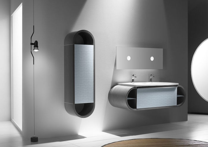 meuble-vasque-salle-de-bain-etagere-murale-design-noir-gris-laque-arrondi-moderne-architecture-miroir