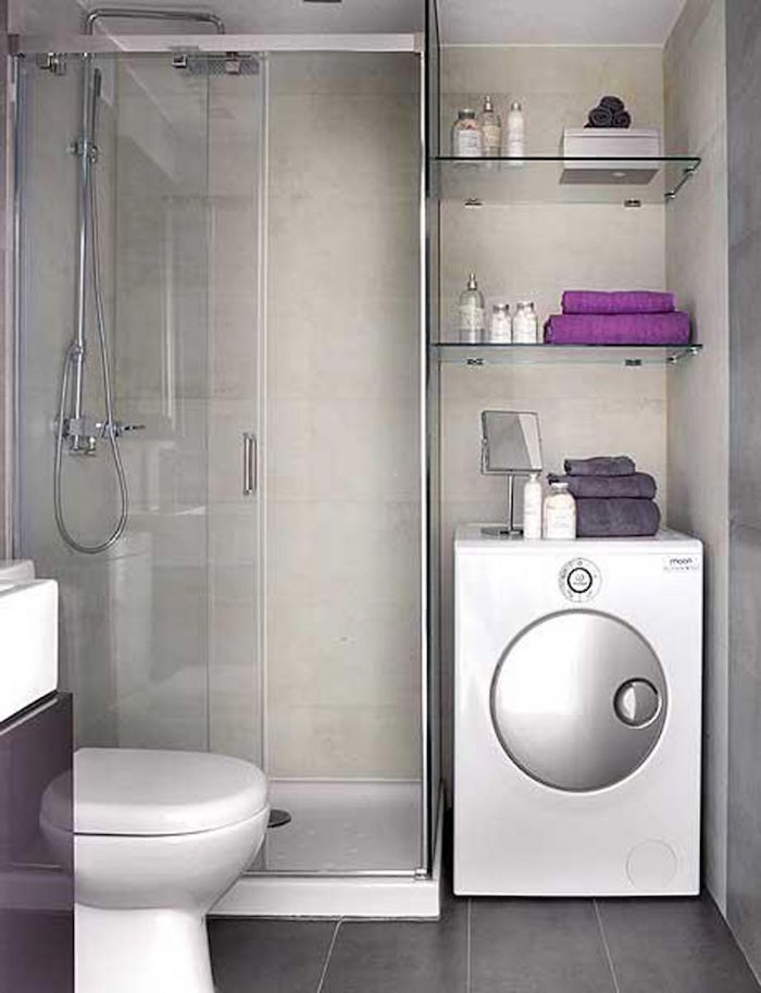 modèle de salle de bain petites salles cabine design