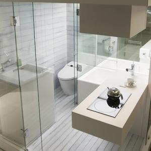 Aménagement de petite salle de BAIN – ce n'est pas la taille qui compte