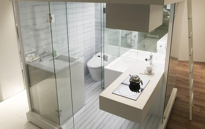 modèle salle de bain cabine idee agenecement salles de bains renovation