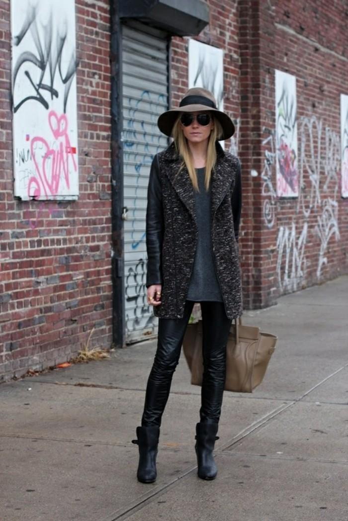 mode-tendances-mode-jupe-hiver-2017-femme-moderne-bottines