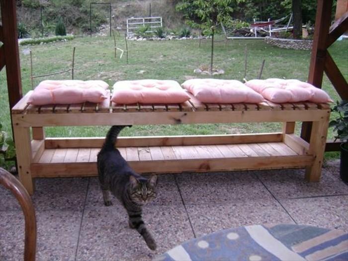 Tuto très facile pour fabriquer un banc en palette pour votre jardin