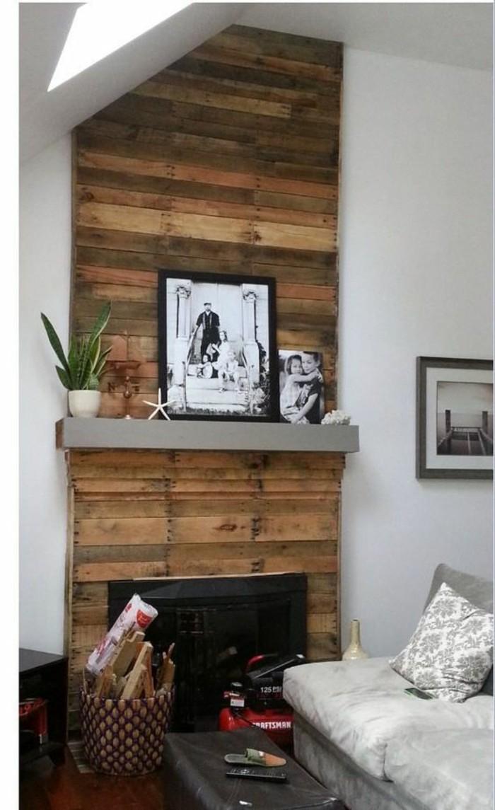 moderniser-une-cheminee-rustique-avec-des-pallettes