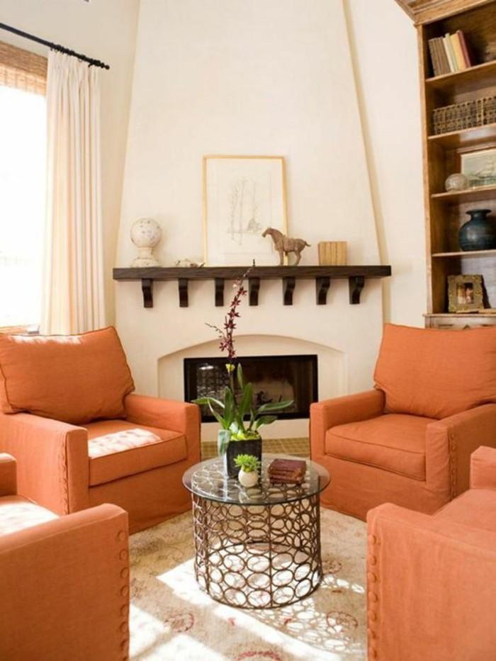 moderniser-une-cheminee-rustique-interieur-boheme