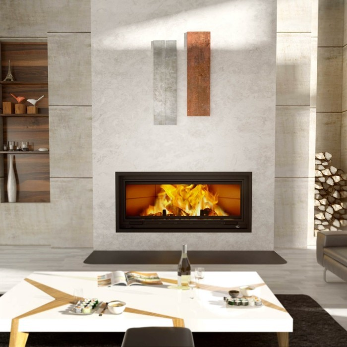 moderniser-une-cheminee-rustique-manteau-tout-blanc