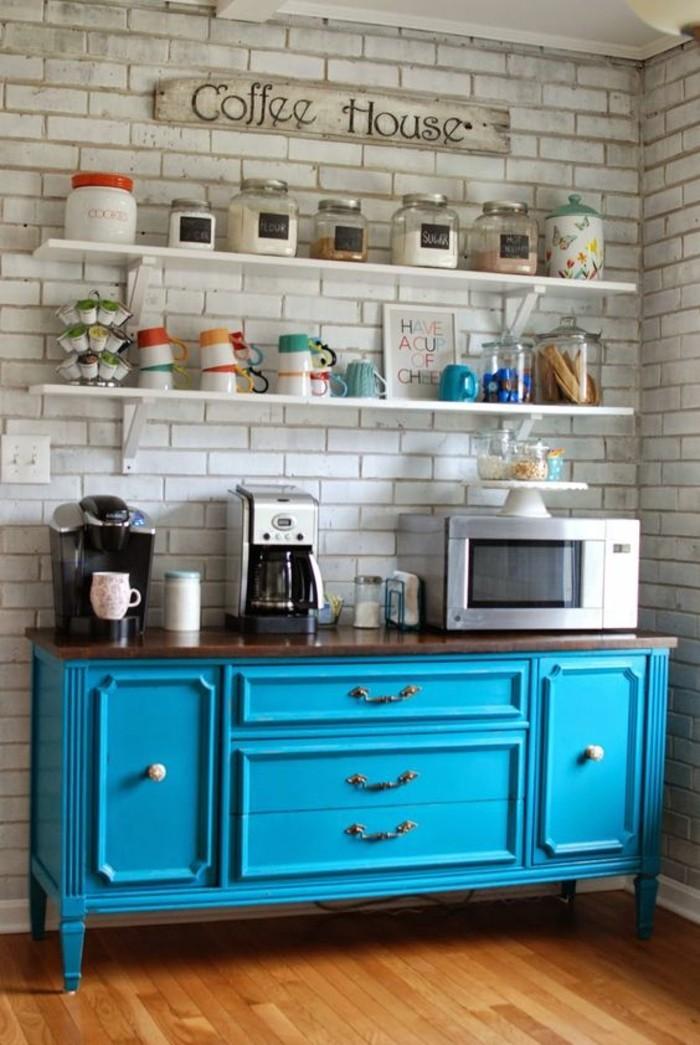 1001 id es pour une cuisine relook e et modernis e - Repeindre une cuisine rustique ...