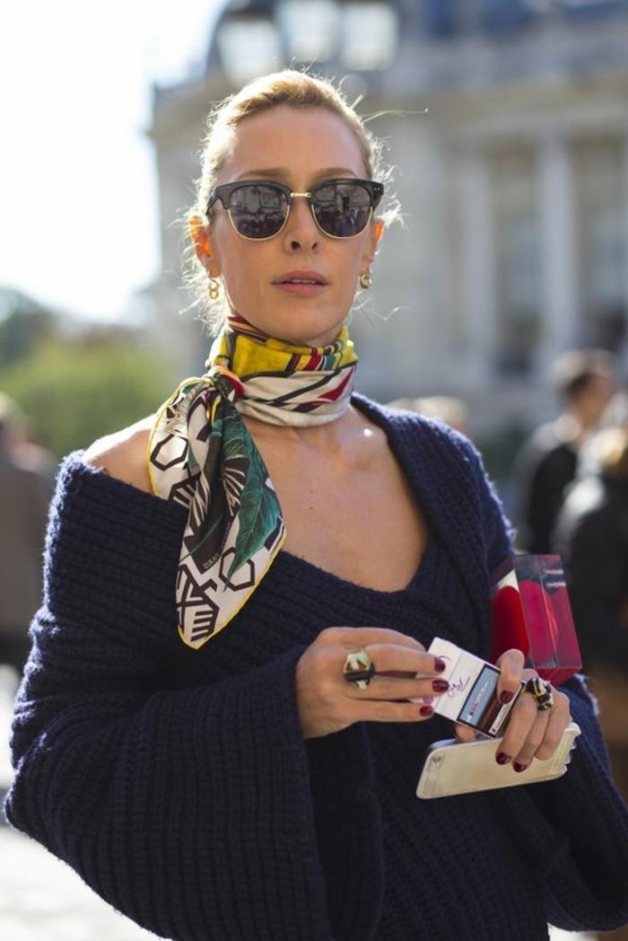 Mille fa ons d 39 tre belle ou comment porter un foulard - Comment faire pour se porter partie civile ...