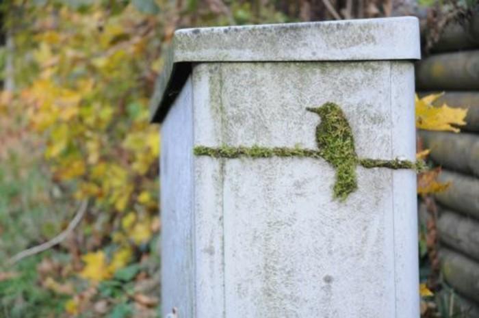 oiseau-en-mousse-vegetal-artistes-contemporains-graffiti-art