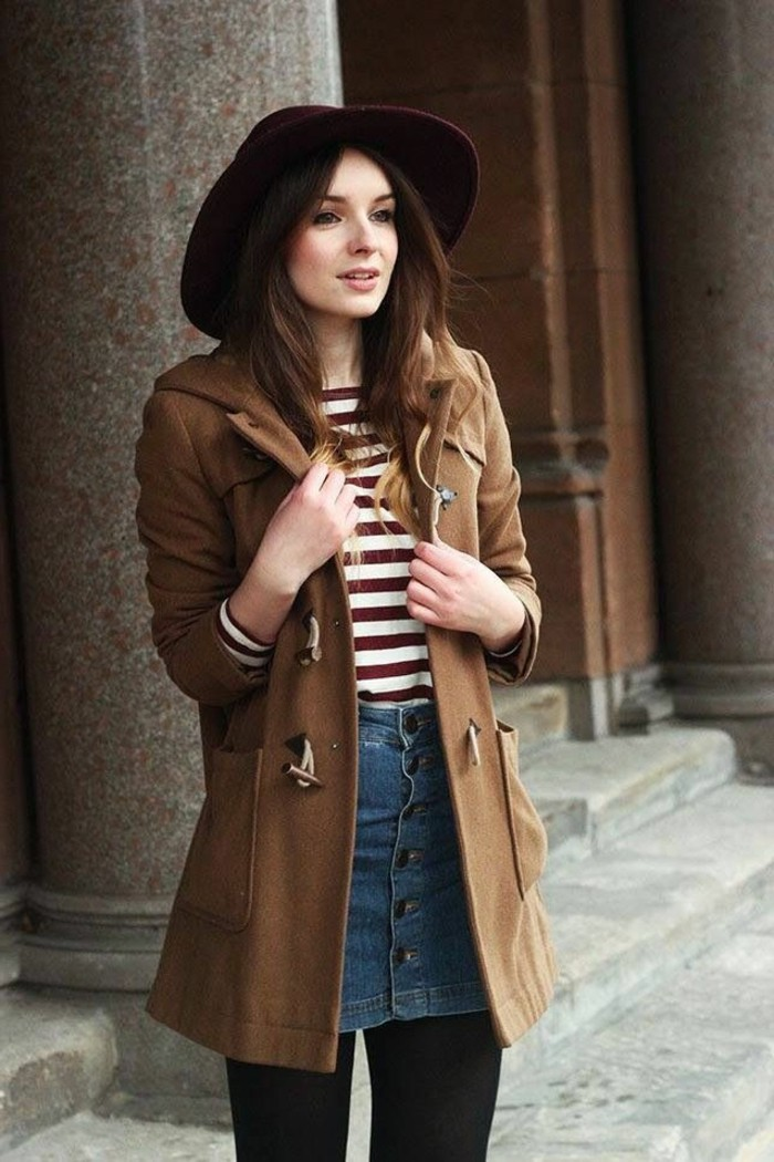 ootd-robe-rouge-hiver-2016-2017-comment-s-habiller-chapeau