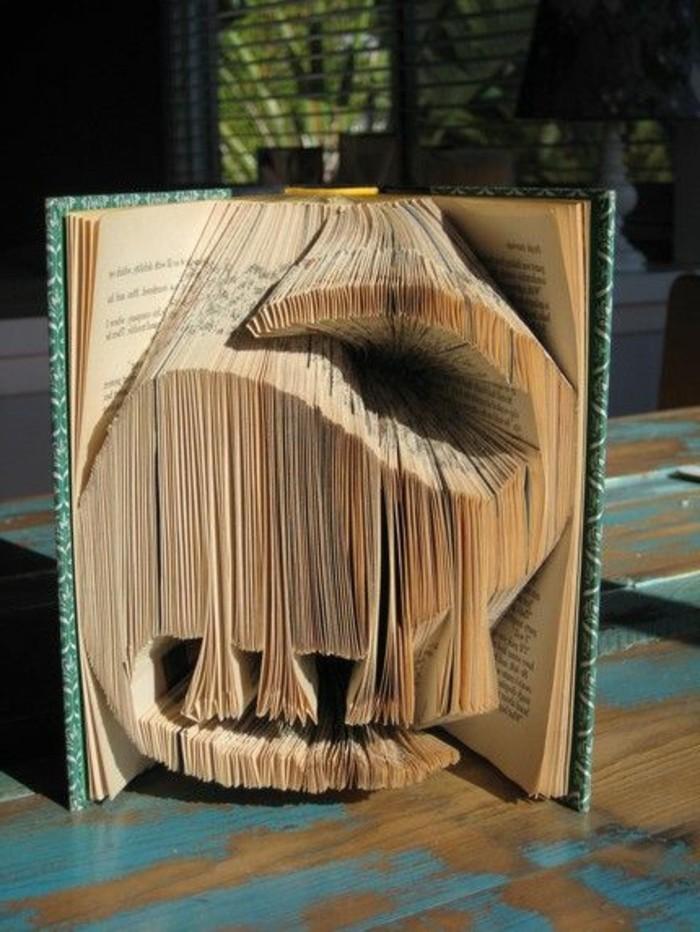 origami-livre-dinosaure-créations-uniques-de-livres