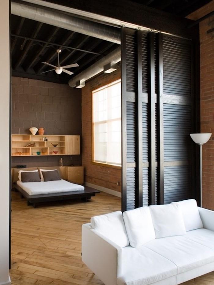 best with cloison chambre salon. Black Bedroom Furniture Sets. Home Design Ideas